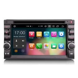 "Universal 1DIN Car Stereo 6.2"" GPS FM CarPlay Android Auto..."