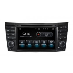 Radio CarPlay Android Auto Bluetooth Mercedes E CLS Class