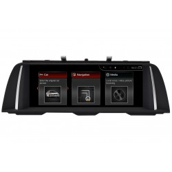 Android Screen BMW 5-Series CIC F07 F10 F11 CarPlay & Android Auto