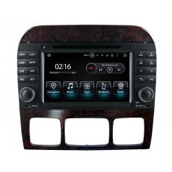Radio Android DVD USB Bluetooth Mercedes S-Class W220