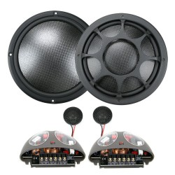 "Morel Virtus Nano Carbon 602 2-Way Component Speakers 6.5"" 16.5cm"