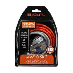 Musway MW10.5KIT 10mm Amplifier Connection Kit