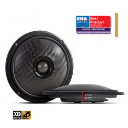 "Morel Virtus Nano Integra Carbon 602 2-Way Coaxial Speakers 6.5""..."