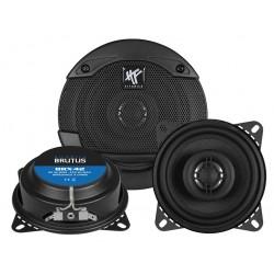 "Hifonics Brutus BRX42 2-Way Coaxial Speakers 4"" 10cm"