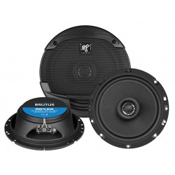 "Hifonics Brutus BRX62 2-Way Coaxial Speakers 6.5"" 16.5cm"