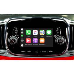 """CarPlay Android Auto Camera Fiat Uconnect 5"""" 500 Doblo Ducato Tipo"""
