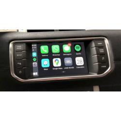 CarPlay Android Auto Camera Range Rover Evoque Vogue Sport Discovery