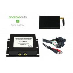 CarPlay Android Auto USB Camera Mercedes Comand 2.0 C CLK E G ML SL...