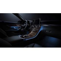 64 Color Mercedes Interior Ambient Led Light C Class GLC W205 X253