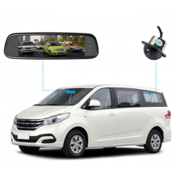 """7"""" Screen Mirror with Reverse Camera"""