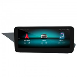 """CarPlay Android Auto Screen 10.25"""" Mercedes NTG4.5 E Class Coupe C207"""