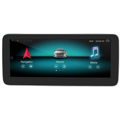 "CarPlay Android Auto Screen 10.25"" Mercedes NTG4.5 A B CLA G GLA Class"