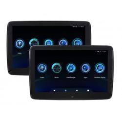 "10.8"" x2 Android BMW Rear Seat Monitor USB Wi-Fi MirrorLink"